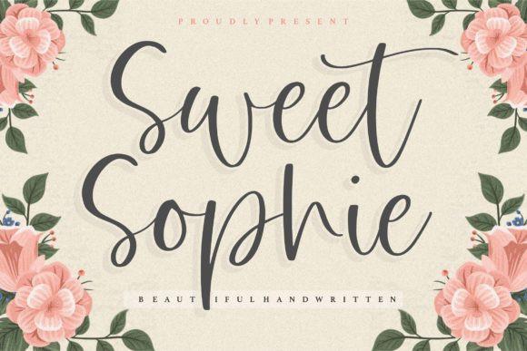 Sweet Sophie Font