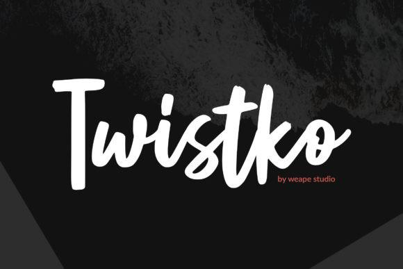 Twistko Font