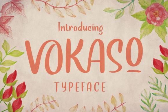 VOKASO Font