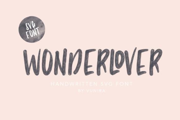 Wonderlover Font