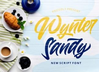 Wynter Sandy Font