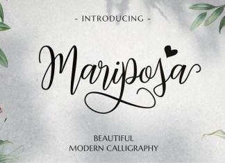 Mariposa Font