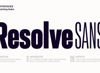 Resolve Sans Font