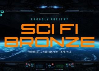 Sci Fi Bronze Font