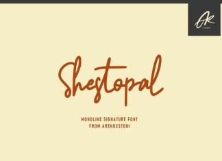 Shestopal Font