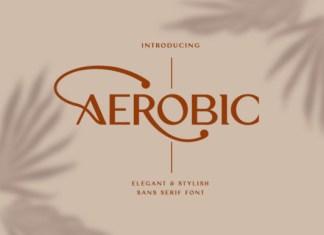 Aerobic Font