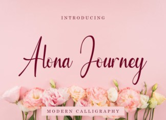 Alona Journey Font