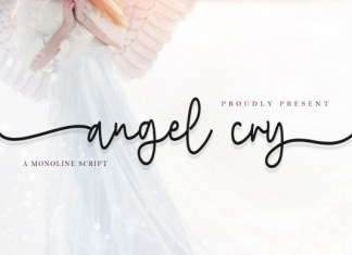 Angel Cry Font