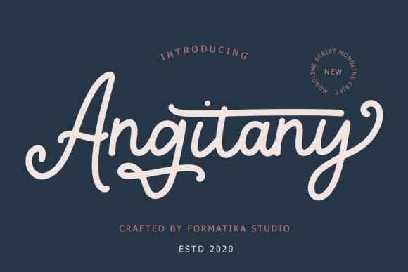 Angitany Font
