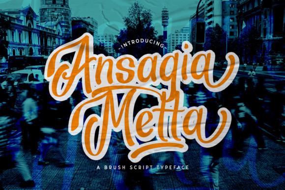 Ansagia Metta Font