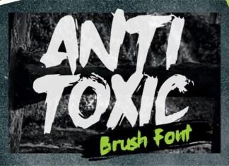 Anti Toxic Font