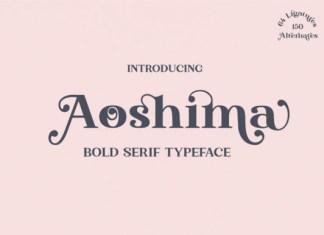 Aoshima Font