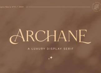Archane Font