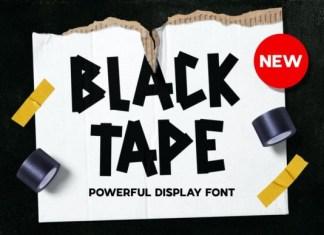 Backtape Font