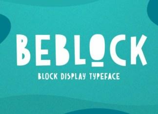 Beblock Font