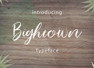 Bightown Font