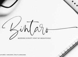 Bintaro Font