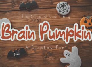 Brain Pumpkin Font