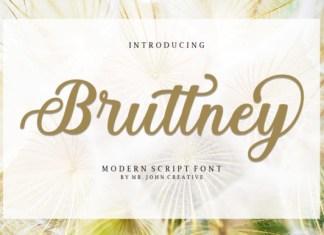 Bruttney Font