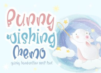 Bunny Wishing Memo Font