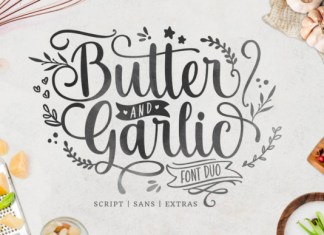 Butter and Garlic Font