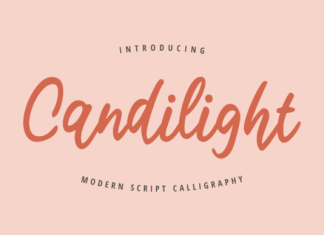 Candilight Font