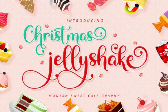 Christmas Jellyshake Font