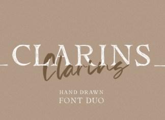 Clarins Font