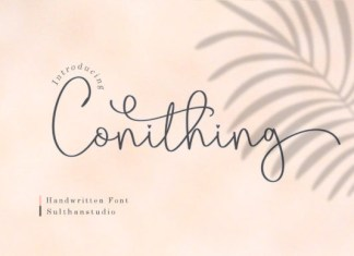 Conithing Font
