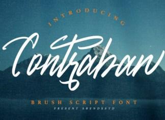 Contraban Font
