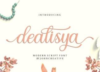 Dealisya Font