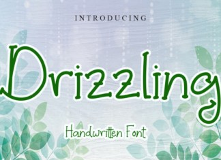 Drizzling Font