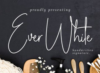 Ever White Font