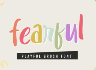 Fearful Font