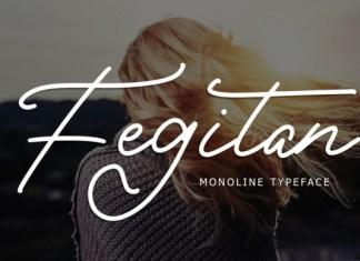Fegitan Font