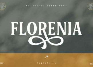 Florenia Font