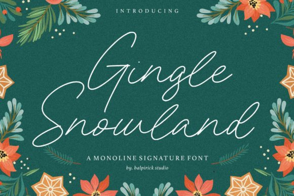 Gingle Snowland Font