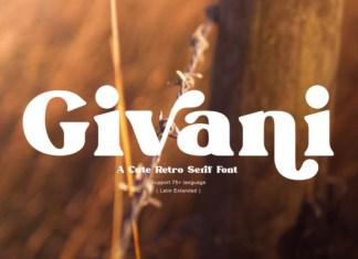 Givani Font