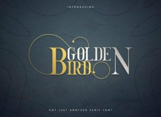 Golden Bird Font