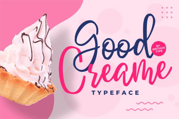 Good Creame Font