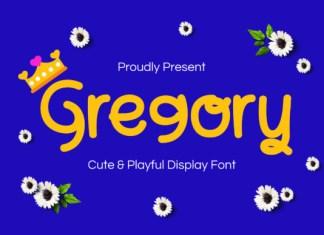 Gregory Font