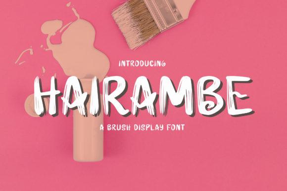 Hairambe Font