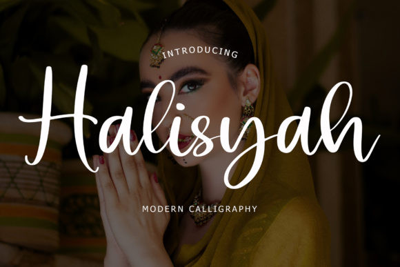 Halisyah Font