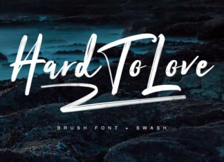 Hard to Love Font
