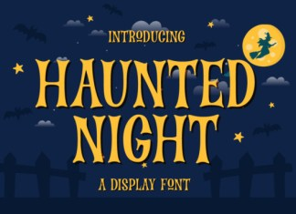 Haunted Night Font