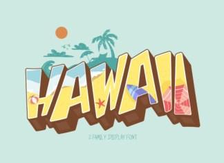 Hawaii Font