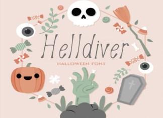 Helldiver Font