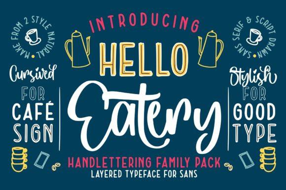 Hello Eatery Font