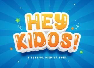 Hey Kidos Font