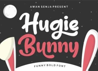 Hugie Bunny Font